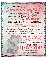 """Once Upon A Time To Grand Daughter Fleece Blanket - 50"""" x 60"""" front"""