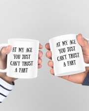 At My Age You Just Can't Trust A Fart To Husband Mug ceramic-mug-lifestyle-44