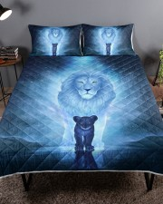 Lion King and Son Queen Quilt Bed Set aos-queen-quilt-bed-set-lifestyle-front-01a