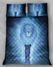 Lion King and Son Queen Quilt Bed Set aos-queen-quilt-bed-set-lifestyle-front-11