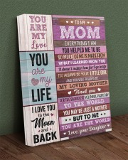 Everything I Am You Helped Me To Be To Mom 16x20 Gallery Wrapped Canvas Prints aos-canvas-pgw-16x20-lifestyle-front-16
