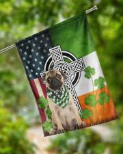 """Dog Irish Shamrock  29.5""""x39.5"""" House Flag aos-house-flag-29-5-x-39-5-ghosted-lifestyle-17"""