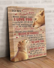 Never Forget That I Love U Lion Mom To Son 11x14 Gallery Wrapped Canvas Prints aos-canvas-pgw-11x14-lifestyle-front-07