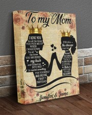 Daughter To Mom I Love U For All Times Custom Name 11x14 Gallery Wrapped Canvas Prints aos-canvas-pgw-11x14-lifestyle-front-10