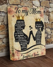 Daughter To Mom I Love U For All Times Custom Name 11x14 Gallery Wrapped Canvas Prints aos-canvas-pgw-11x14-lifestyle-front-21