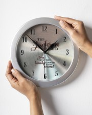 Time Spent Jackson Family's Worth Every Second Wall Clock aos-wall-clock-lifestyle-front-05