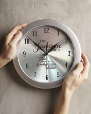 Time Spent Jackson Family's Worth Every Second Wall Clock aos-wall-clock-lifestyle-front-11