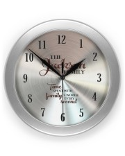 Time Spent Jackson Family's Worth Every Second Wall Clock front