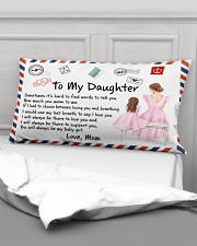 Sometimes It's Hard To Find Words Mom To Daughter Rectangular Pillowcase aos-pillow-rectangular-front-lifestyle-03