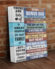 You May Not Have Given Me Daughter To Bonus Dad 11x14 Gallery Wrapped Canvas Prints aos-canvas-pgw-11x14-lifestyle-front-09