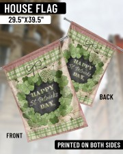 """Happy Patrick's Day 29.5""""x39.5"""" House Flag aos-house-flag-29-5-x-39-5-ghosted-lifestyle-02"""