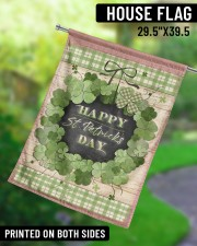 """Happy Patrick's Day 29.5""""x39.5"""" House Flag aos-house-flag-29-5-x-39-5-ghosted-lifestyle-13"""