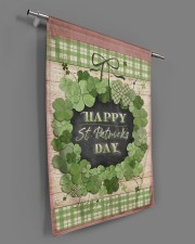 """Happy Patrick's Day 29.5""""x39.5"""" House Flag aos-house-flag-29-5-x-39-5-ghosted-lifestyle-18"""