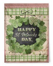 """Happy Patrick's Day 29.5""""x39.5"""" House Flag front"""