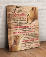 Today Is A Good Day Have Great Day Mom To Daughter 11x14 Gallery Wrapped Canvas Prints aos-canvas-pgw-11x14-lifestyle-front-07