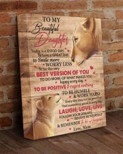 Today Is A Good Day Have Great Day Mom To Daughter 11x14 Gallery Wrapped Canvas Prints aos-canvas-pgw-11x14-lifestyle-front-09