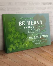Shamrock May Ur Pockets Be Heavy Ur Heart Be Light 36x24 Gallery Wrapped Canvas Prints aos-canvas-pgw-36x24-lifestyle-front-01