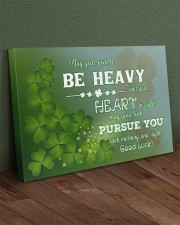 Shamrock May Ur Pockets Be Heavy Ur Heart Be Light 36x24 Gallery Wrapped Canvas Prints aos-canvas-pgw-36x24-lifestyle-front-10