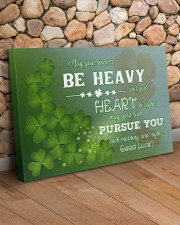 Shamrock May Ur Pockets Be Heavy Ur Heart Be Light 36x24 Gallery Wrapped Canvas Prints aos-canvas-pgw-36x24-lifestyle-front-12