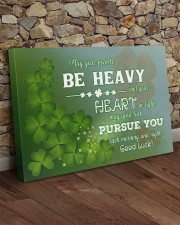 Shamrock May Ur Pockets Be Heavy Ur Heart Be Light 36x24 Gallery Wrapped Canvas Prints aos-canvas-pgw-36x24-lifestyle-front-15