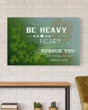 Shamrock May Ur Pockets Be Heavy Ur Heart Be Light 36x24 Gallery Wrapped Canvas Prints aos-canvas-pgw-36x24-lifestyle-front-17