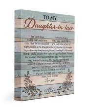 We Both Love The Same Man To Daughter-In-Law 11x14 Gallery Wrapped Canvas Prints front