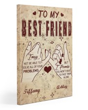 To Friend I May Not Be Able To Solve Custom 20x30 Gallery Wrapped Canvas Prints front