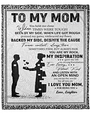 """Personalized U Help Me Close Son To Mom Fleece Blanket - 50"""" x 60"""" front"""