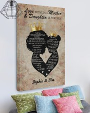 Personalized Love Mom and Daughter Mom To Daughter 20x30 Gallery Wrapped Canvas Prints aos-canvas-pgw-20x30-lifestyle-front-02