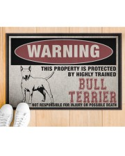 """Bull this property is protected Doormat 22.5"""" x 15""""  aos-doormat-22-5x15-lifestyle-front-03"""