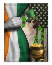 "Lucky Dog Shamrock Patrick's Day 29.5""x39.5"" House Flag front"