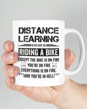Distance Learning Is As Easy As Riding A Bike Mug ceramic-mug-lifestyle-26