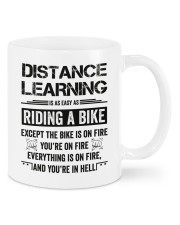 Distance Learning Is As Easy As Riding A Bike Mug front