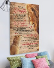My Little Girl Yesterday Lion Dad To Daughter 20x30 Gallery Wrapped Canvas Prints aos-canvas-pgw-20x30-lifestyle-front-02
