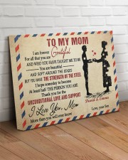Son To Mom I Am Forever Grateful For All Custom 20x16 Gallery Wrapped Canvas Prints aos-canvas-pgw-20x16-lifestyle-front-14