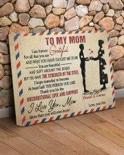 Son To Mom I Am Forever Grateful For All Custom 20x16 Gallery Wrapped Canvas Prints aos-canvas-pgw-20x16-lifestyle-front-18