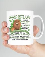 I Didn't Give U The Gift Of Life To Son-in-Law Mug ceramic-mug-lifestyle-26