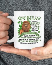 I Didn't Give U The Gift Of Life To Son-in-Law Mug ceramic-mug-lifestyle-31