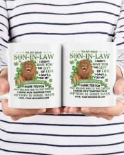 I Didn't Give U The Gift Of Life To Son-in-Law Mug ceramic-mug-lifestyle-38