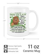 I Didn't Give U The Gift Of Life To Son-in-Law Mug ceramic-mug-lifestyle-62