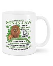I Didn't Give U The Gift Of Life To Son-in-Law Mug front