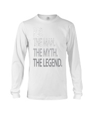 Cool Grandpa Shirt - Pop The Man The Myth Tees Long Sleeve Tee front