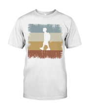 I Go To School Retro T-shirt Premium Fit Mens Tee thumbnail