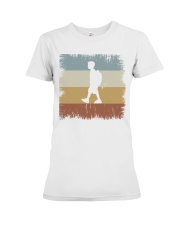 I Go To School Retro T-shirt Premium Fit Ladies Tee thumbnail