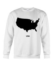USA Map Crewneck Sweatshirt thumbnail