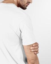 USA Map V-Neck T-Shirt garment-vneck-tshirt-detail-sleeve-back-01