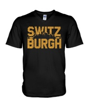 Switz Burgh Shirt V-Neck T-Shirt thumbnail