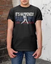 Babe Ryu Shirt Classic T-Shirt apparel-classic-tshirt-lifestyle-31