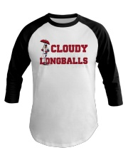 Cloudy With A Chance Of Longballs T Shirt Baseball Tee thumbnail