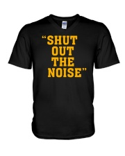Shut Out The Noise T Shirt V-Neck T-Shirt thumbnail